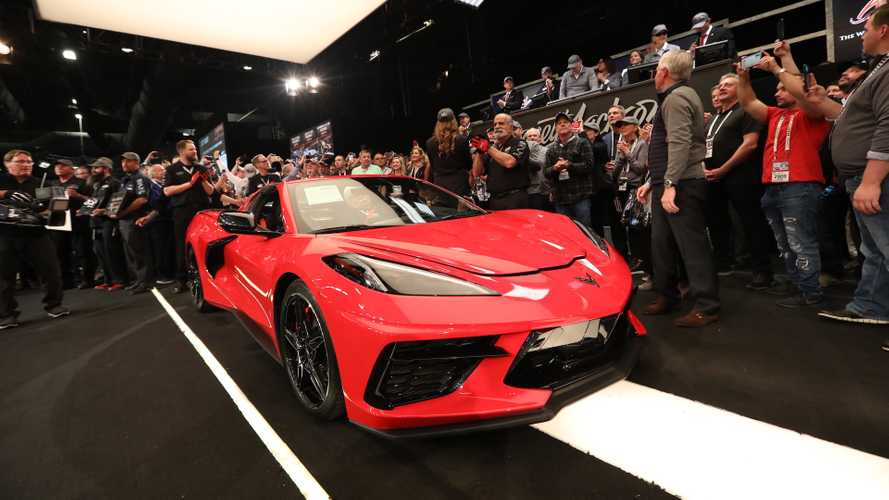 First 2020 Corvette Stingray sells for £2.3M at auction