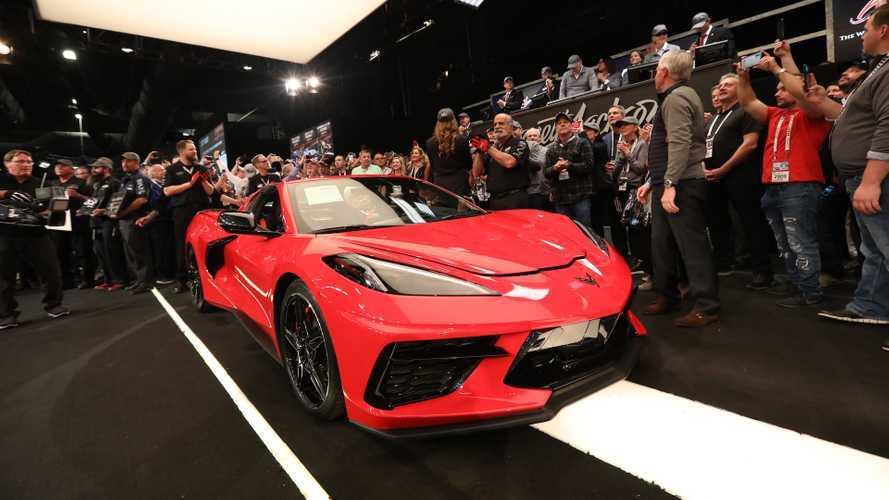 La première Chevrolet Corvette C8 se vend à trois millions de dollars