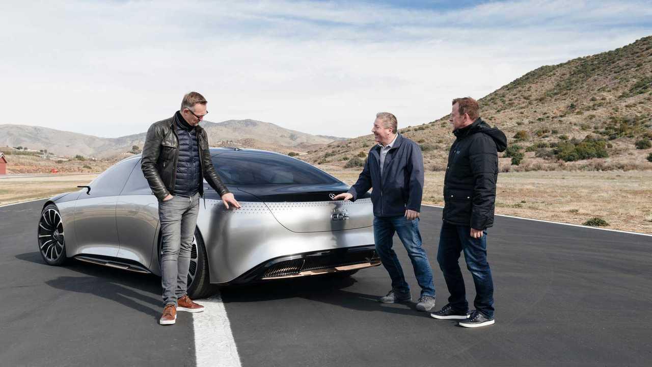Mercedes EQS Vision Concept