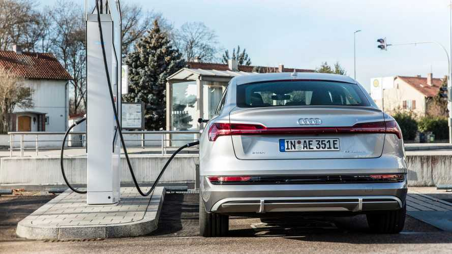 Audi charging infrastructure