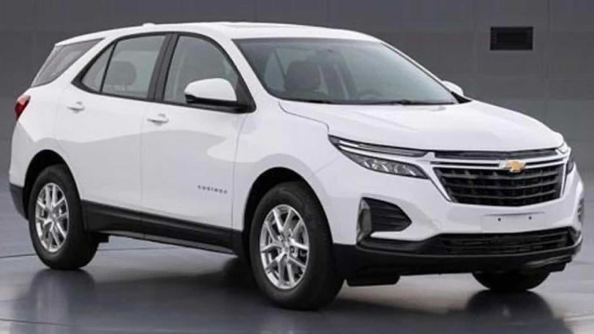 2021 Chevy Equinox Facelift Photos Allegedly Leak