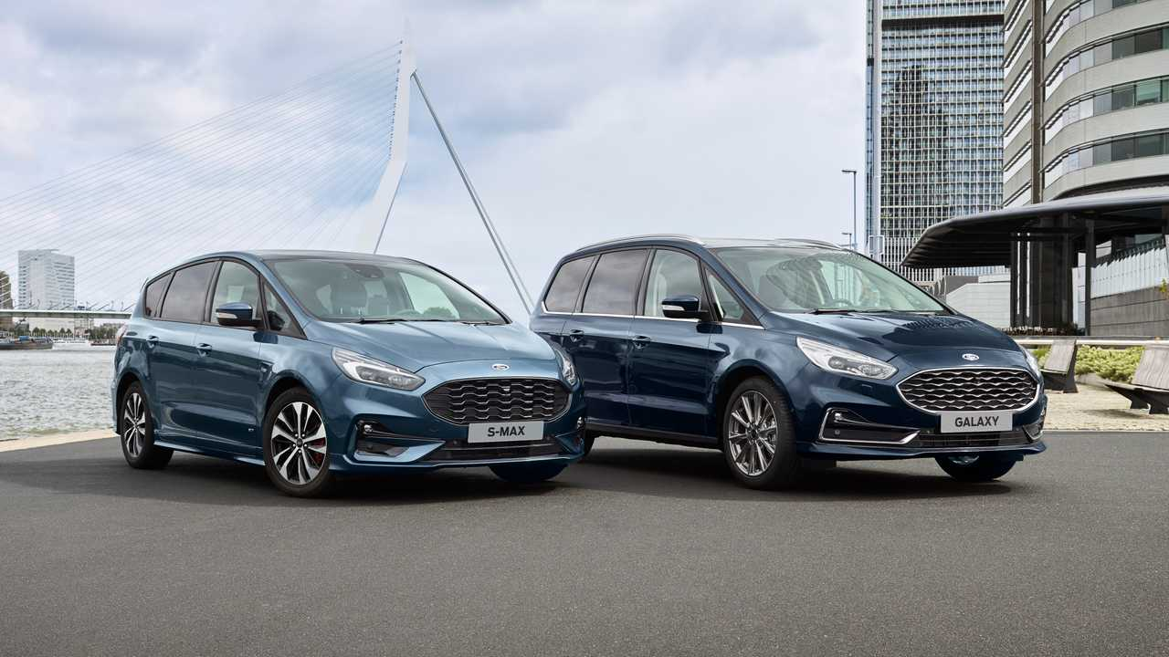 New Ford S-MAX Hybrid and Ford Galaxy Hybrid