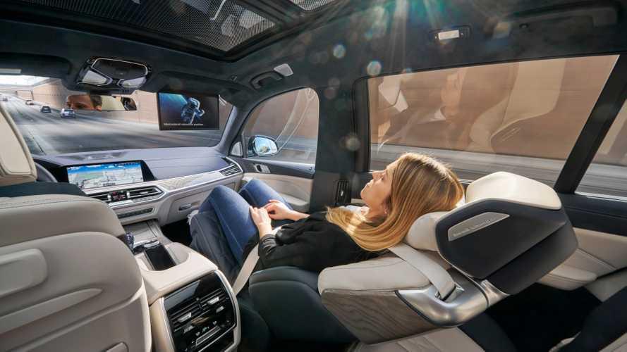 BMW ZeroG Lounger - Le voyage en classe affaire