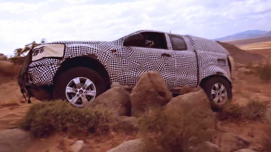 Ford Bronco 'Spy' Video Teases The SUV's Off-Road Prowess