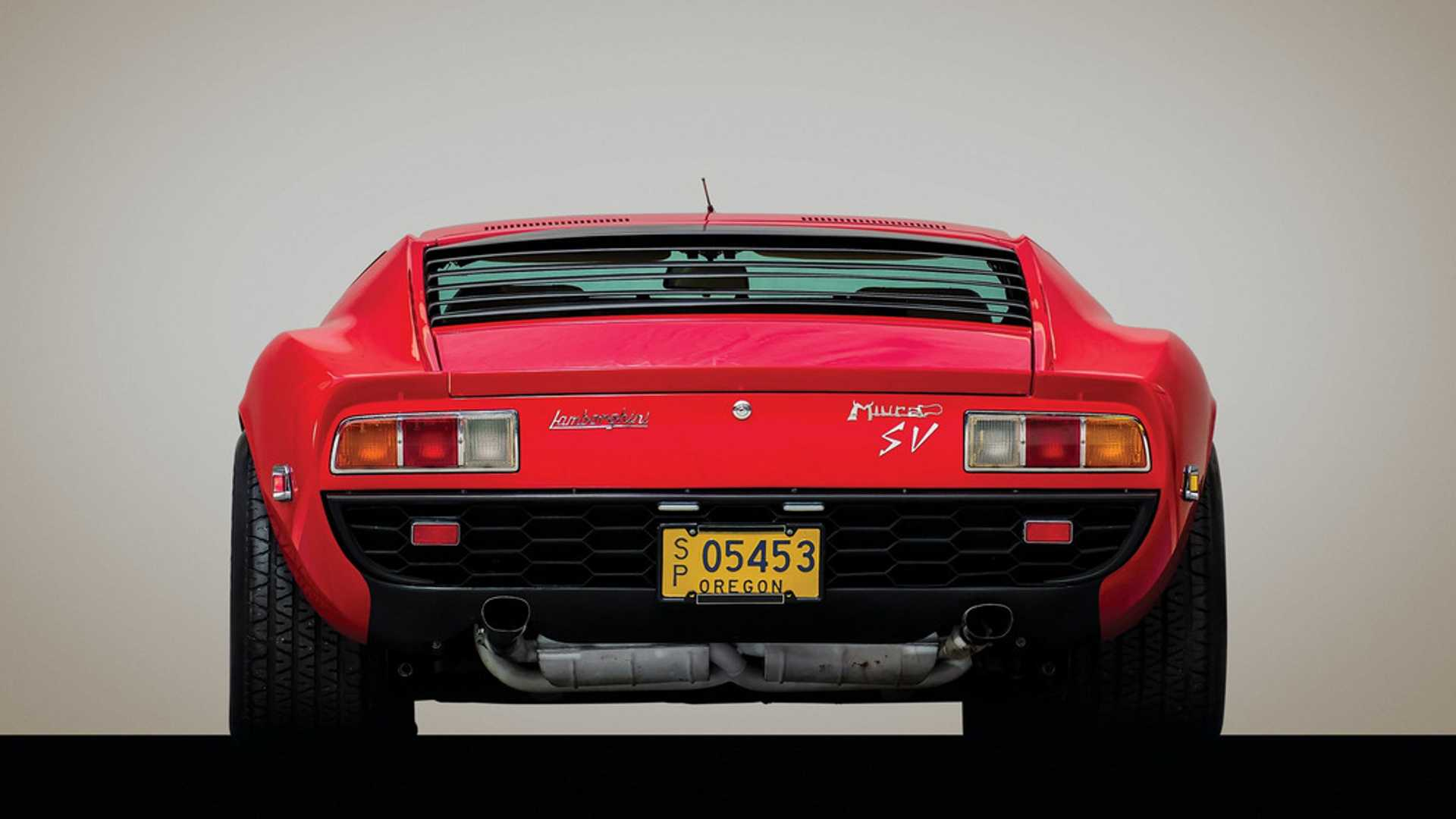 "[""Rare Dry-Sump 1971 Lamborghini Miura SV Heading To Auction""]"
