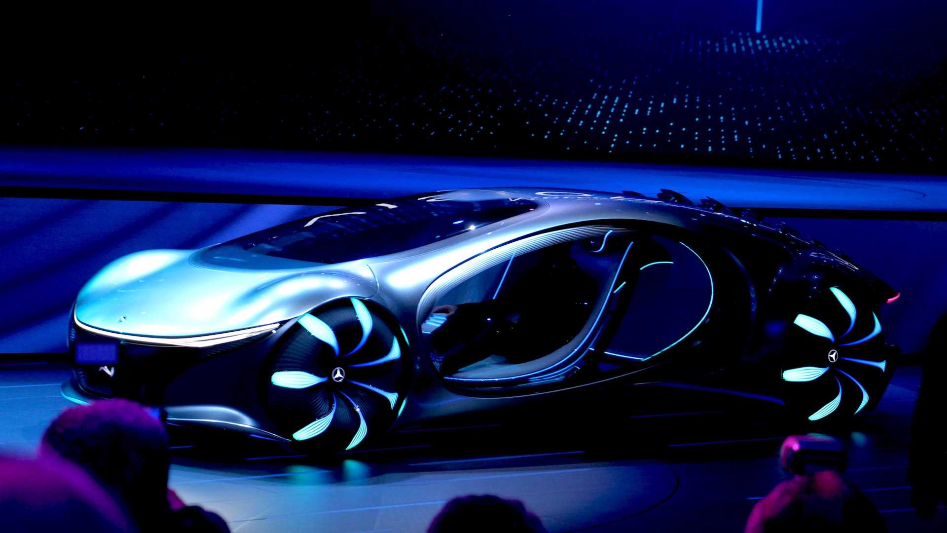 Mercedes Vision Avtr Concept Is A Futuristic Ev Inspired By Avatar