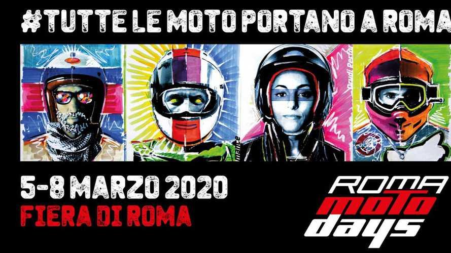 Coronavirus: Roma Motodays 2020 rimandato ad aprile