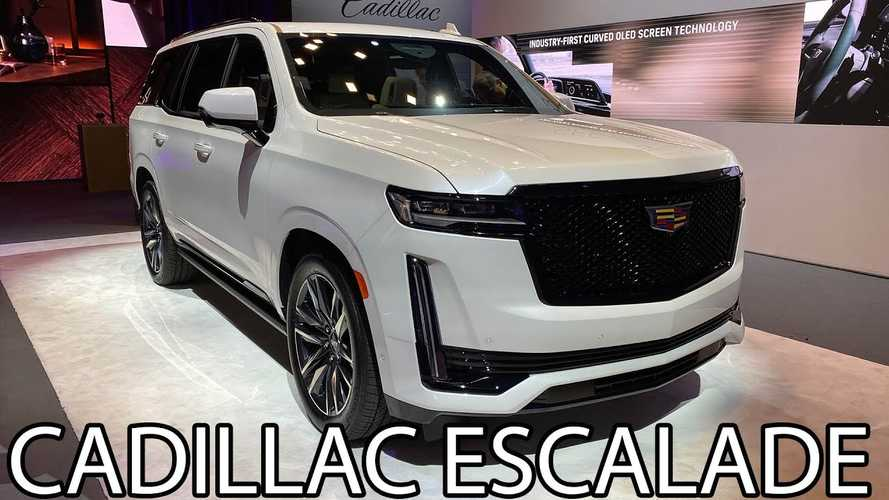 2021 Cadillac Escalade Videos Give First Look Of New Baller SUV