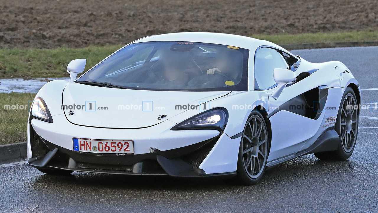 McLaren Sport Series, fotos espía