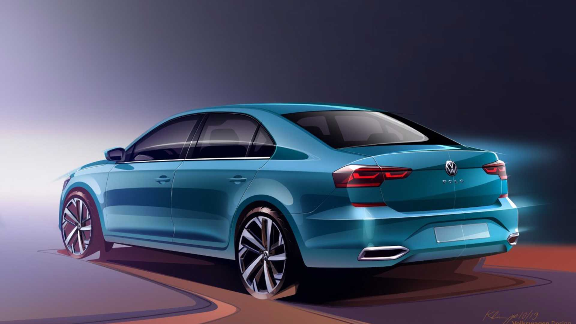 Volkswagen Polo Sedan Repaginado Fara Papel Do Virtus Na Russia