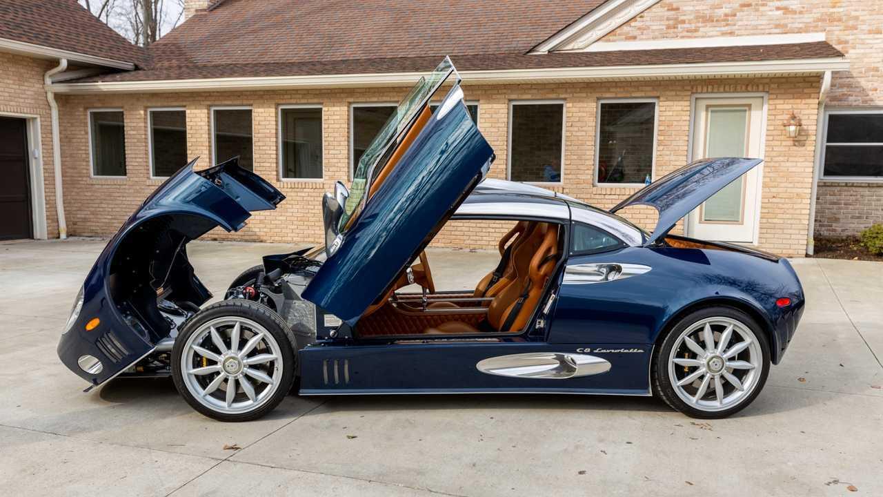 Spyker C8 Laviolette con motor V8 de Audi, a la venta
