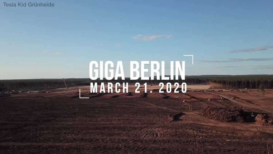 Ground Leveling Progresses At Tesla Gigafactory 4: Video