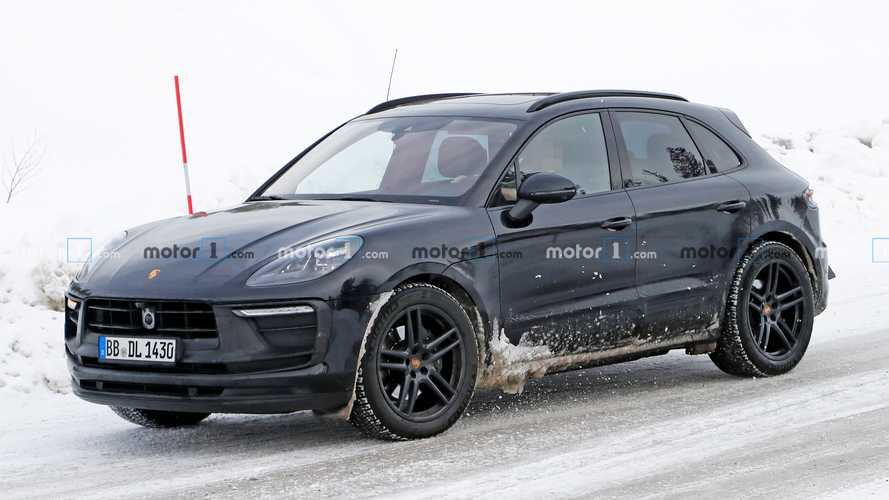 Next-gen Porsche Macan test mule spied in early development phase