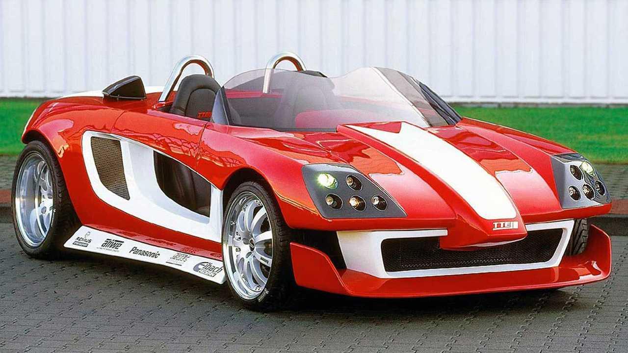 Toyota MR2 Street Affair Concept 2001