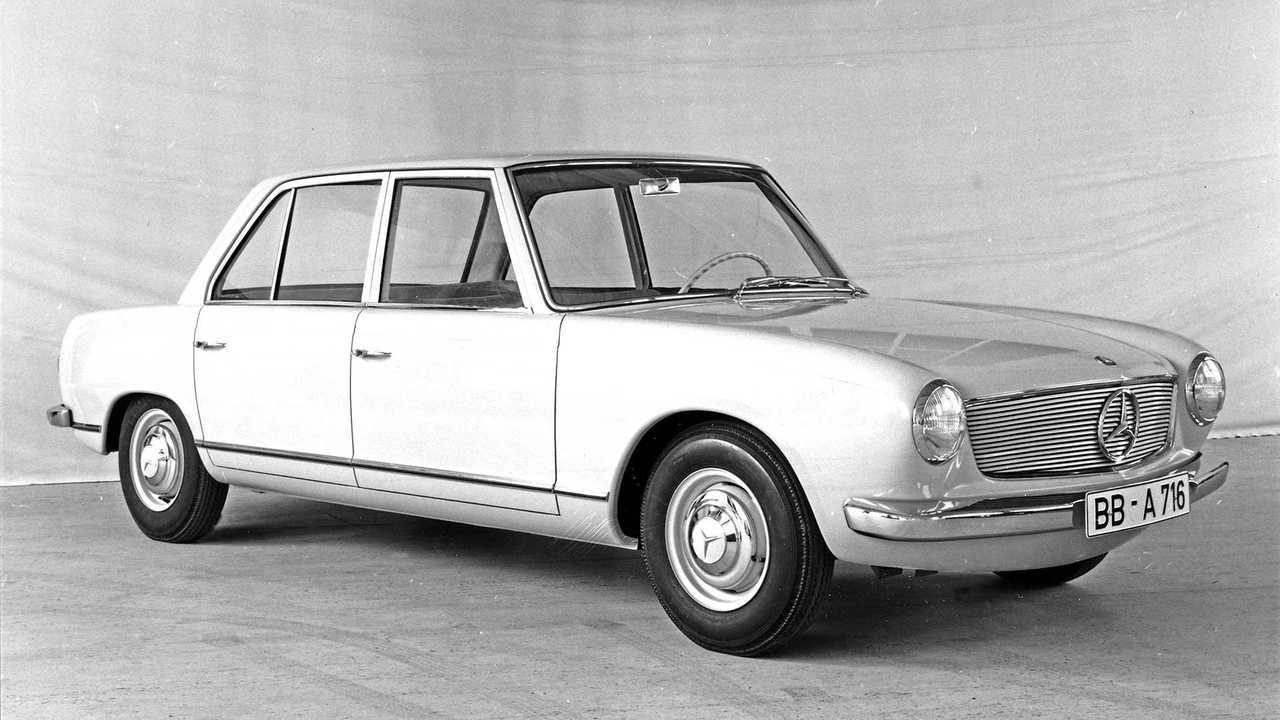 Vergessene Studien: Mercedes W 118/119 (1962)