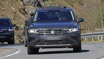 Volkswagen Tiguan Facelift auf neuen Erlkönigfotos