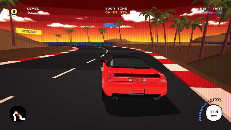 Acura Mobile Racing Game Celebrates 30 Years Of Pixelated Cars