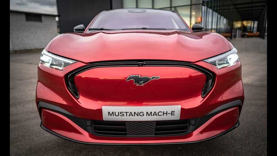 Ford Mustang Mach-E First Roll In Norway