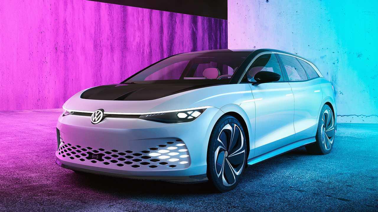 Die Elektro-Zukunft von VW: VW I.D. Space Vizzion