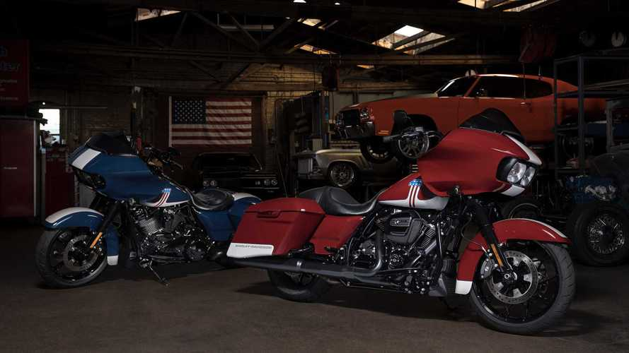Harley Introduces New Super American Road Glide Livery