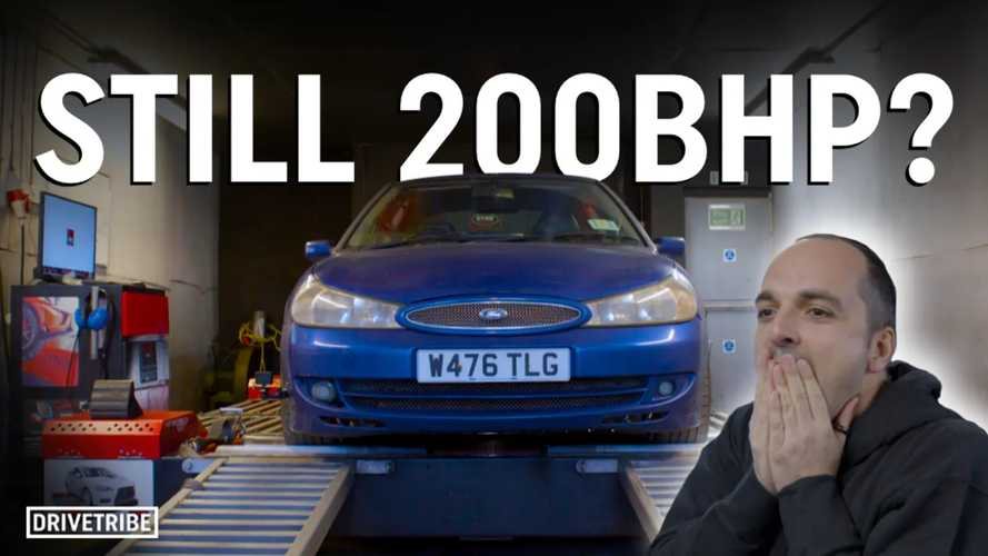 How much power has this Ford Mondeo ST200 lost in 20 years?