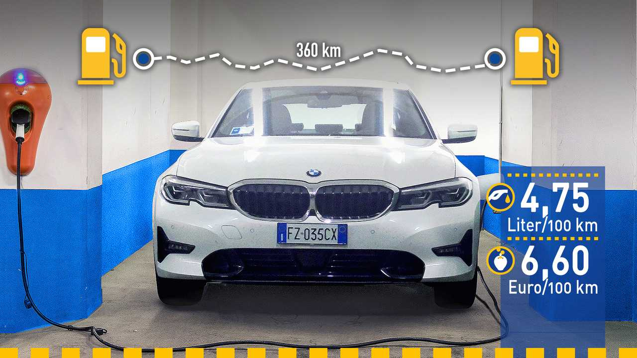 BMW 330e im Verbrauchstest