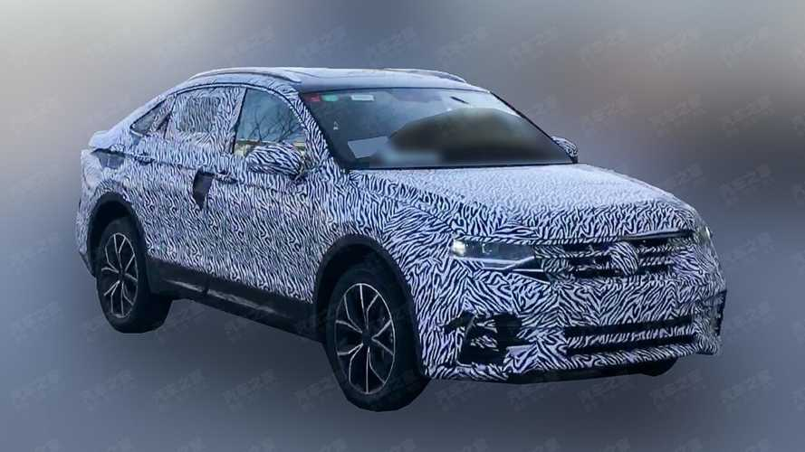 Volkswagen Tiguan Coupé - Flagra