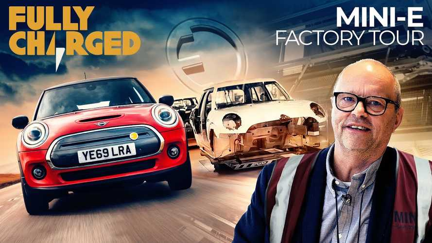 Fully Charged Takes MINI Electric Factory Tour And Test Drive