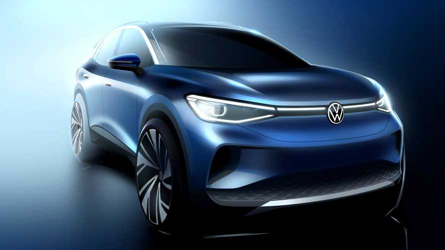 """VW ID.4 SUV Exterior: """"As If Shaped By The Wind Itself"""""""