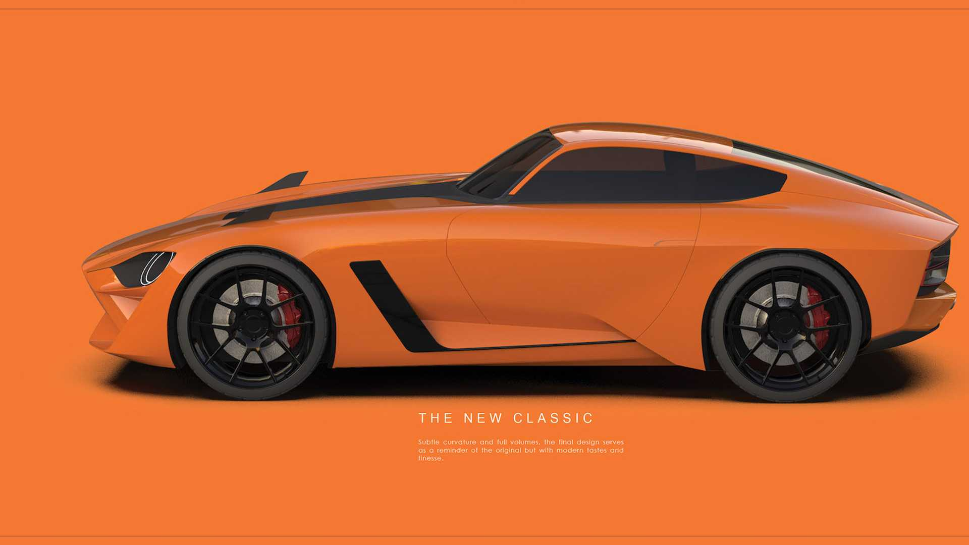 Designer Renders Next Nissan Z Car With Fantastic Retro Cues