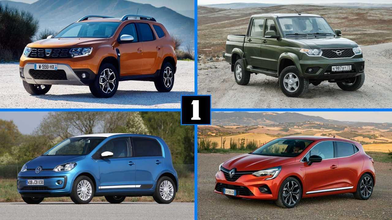Couverture top 10 voitures lentes