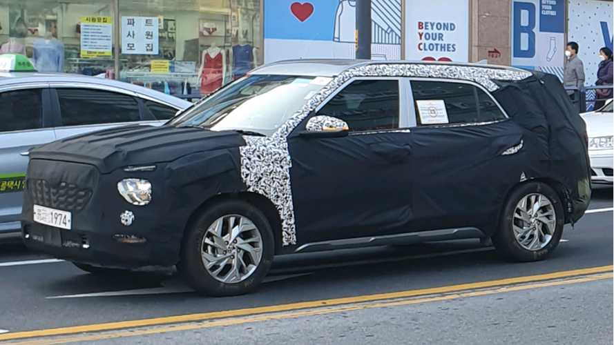 Novo Hyundai Creta de 7 lugares pode estrear no fim do ano