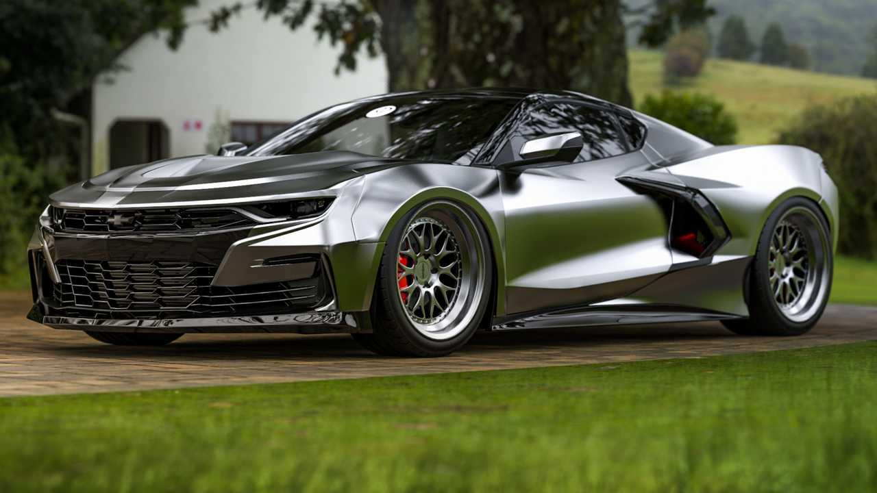Mid-Engined Chevy Camaro Rendering Is Just For Fun