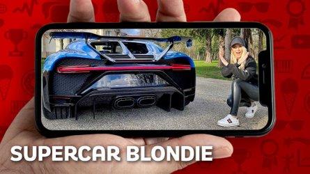 Super sportive viste dalle donne, auto incredibili con Supercar Blondie