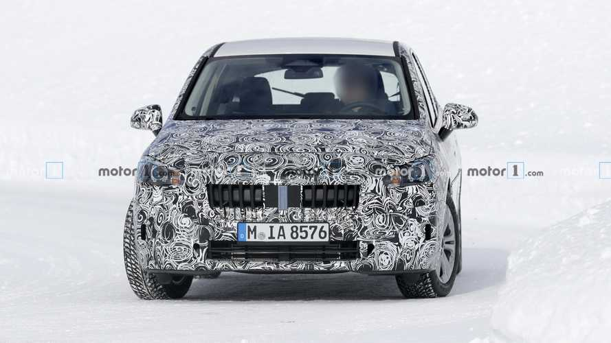 2021 BMW 2 Series Active Tourer new spy photos