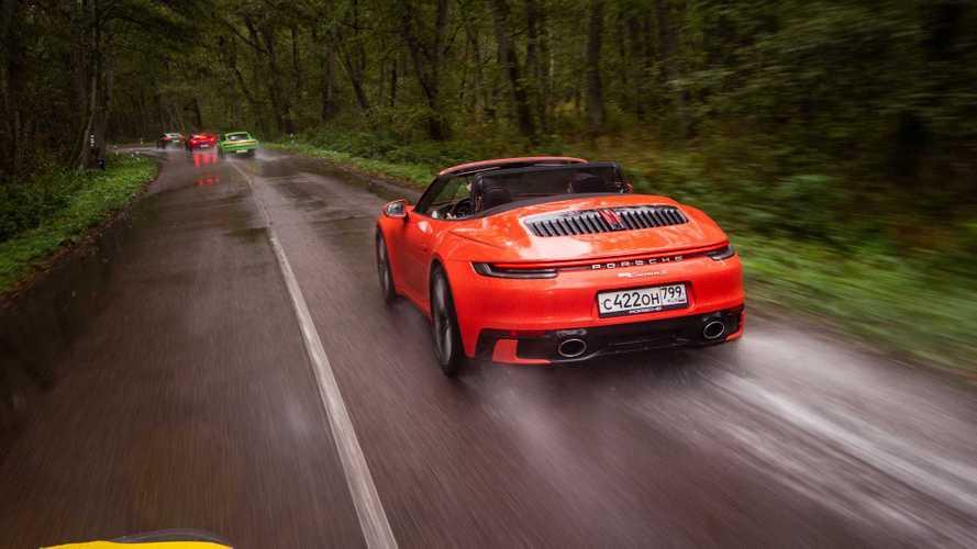 Трое в деле: 911 Carrera S, 4S и 4S Cabriolet на родине Канта