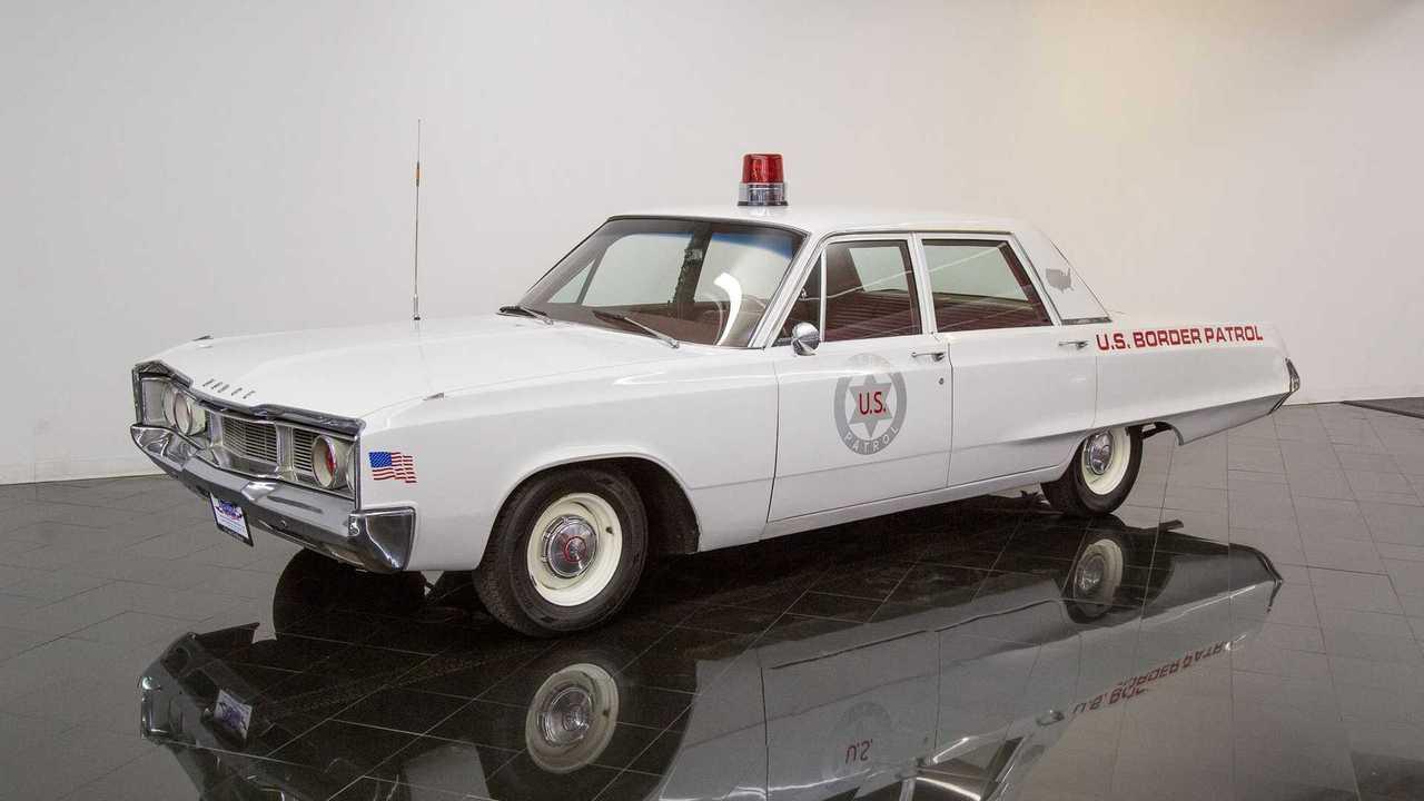 Dodge Polara U.S. Border Patrol Car Is Ready For Action