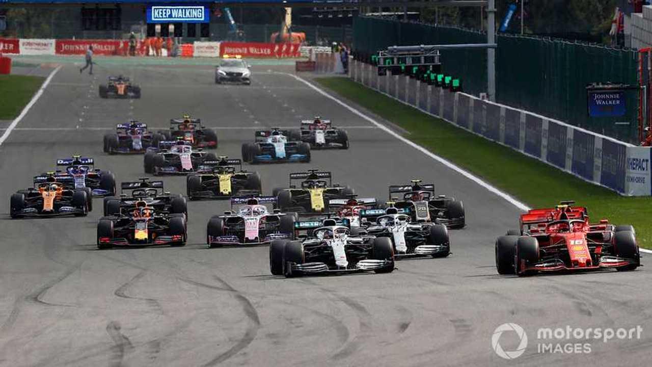 Belgian GP 2019 start race