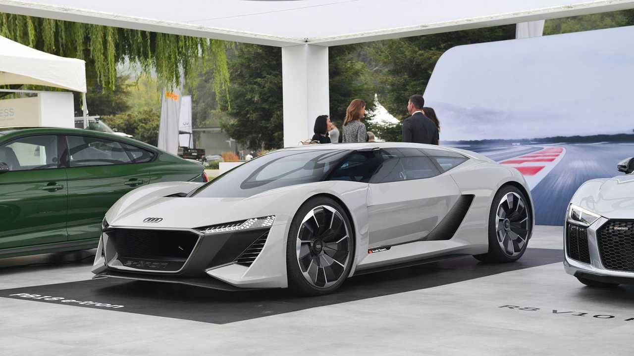 Electric Audi Supercar