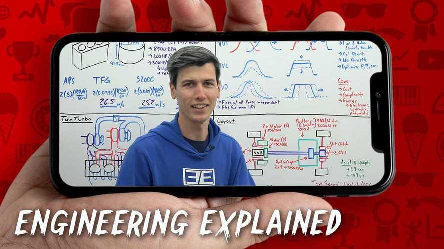 Tutti i segreti della meccanica con Jason Fenske in Engineering Explained