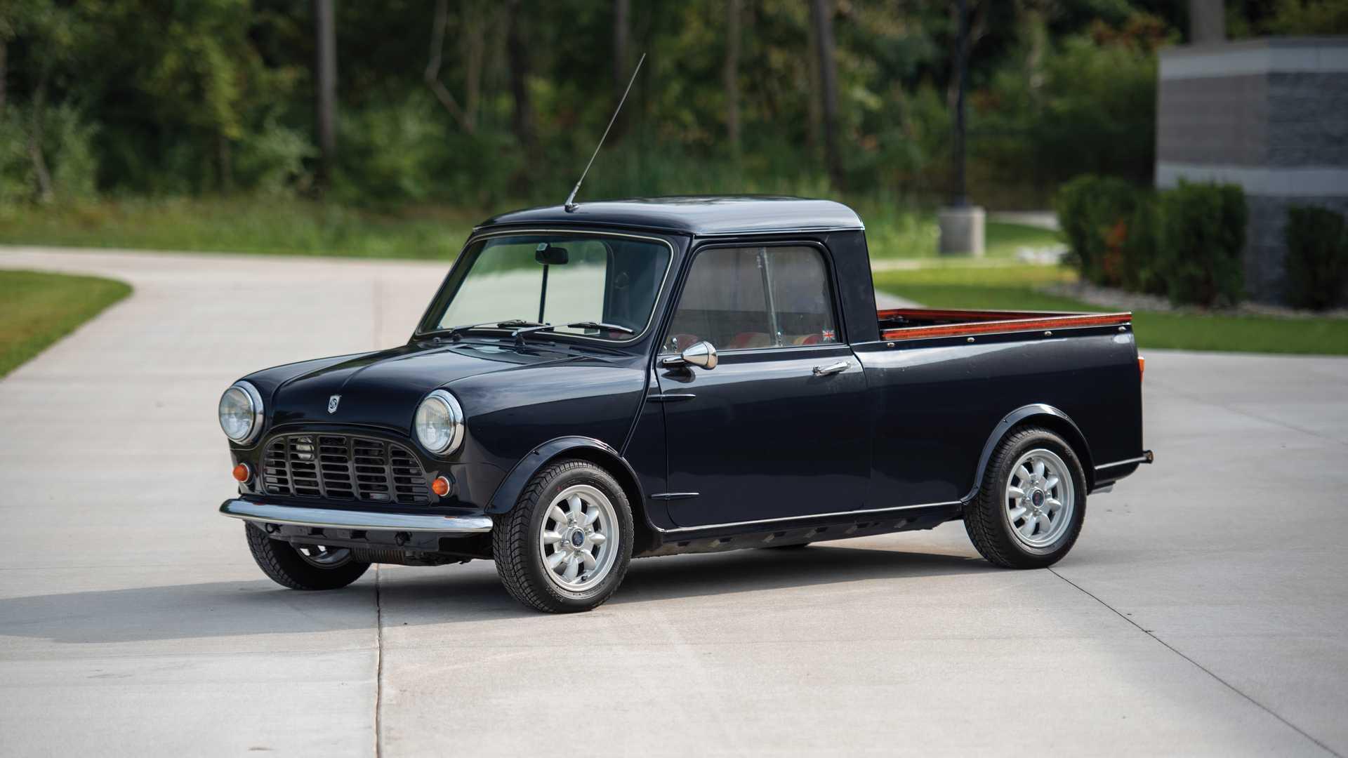A subasta este Austin Mini de 1972: ¿el pick-up más adorable?