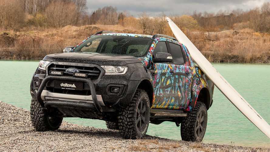 Así es el Ford Ranger pick-up preparado por delta4x4