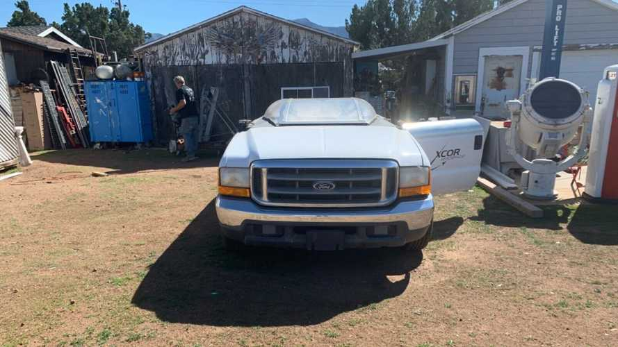 1999 Ford F-250 rolling wind tunnel platform for sale