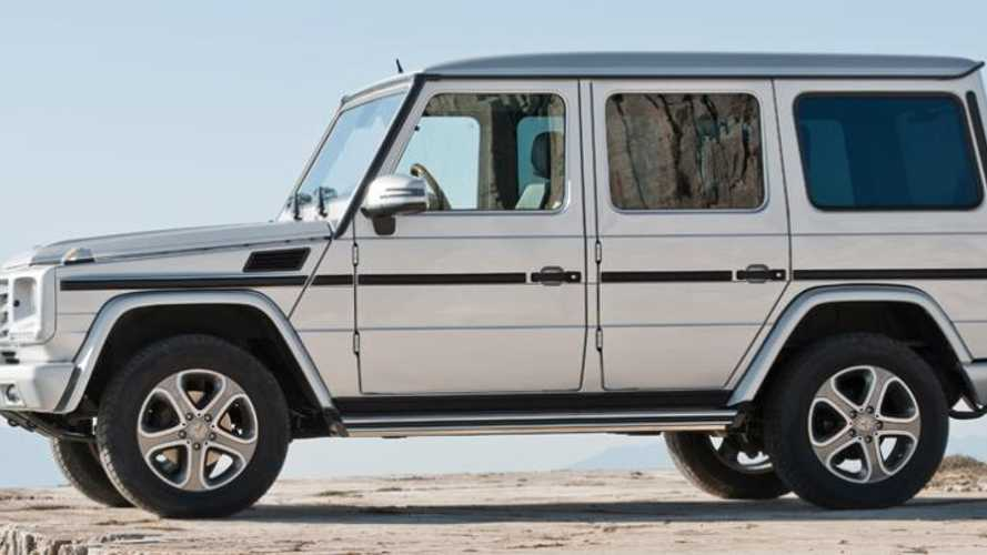 Evolution of the Mercedes G-Wagen