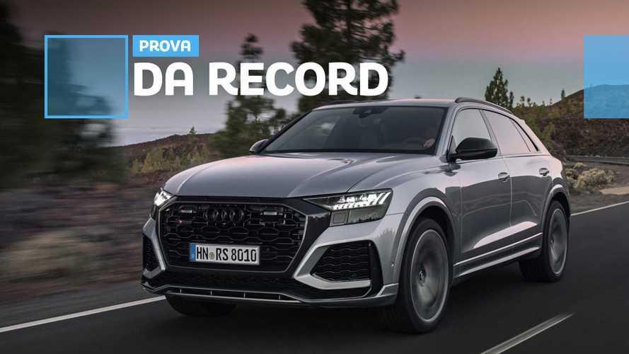 Audi RS Q8, abbiamo guidato il SUV supersonico