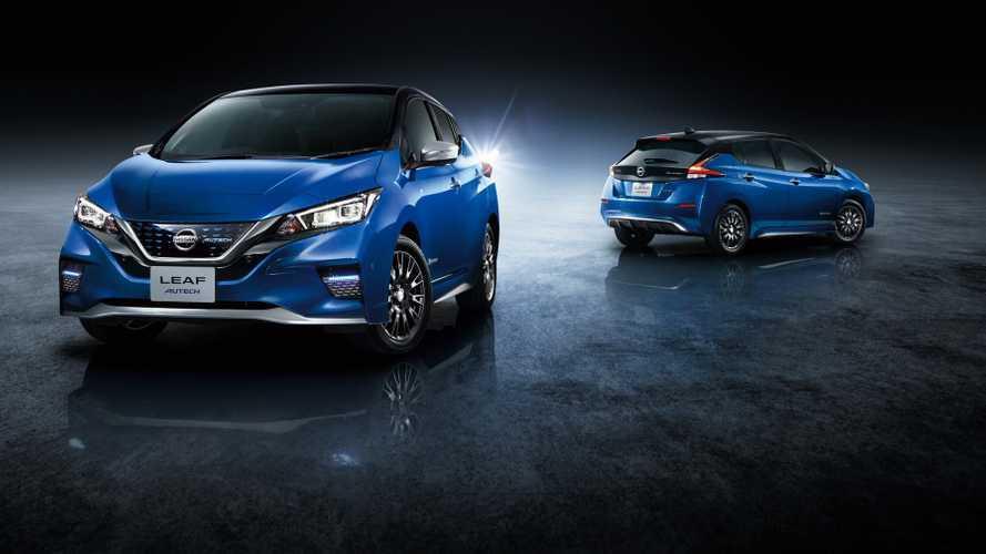 Új vezetési segédleteket és festést kapott a frissített Nissan Leaf