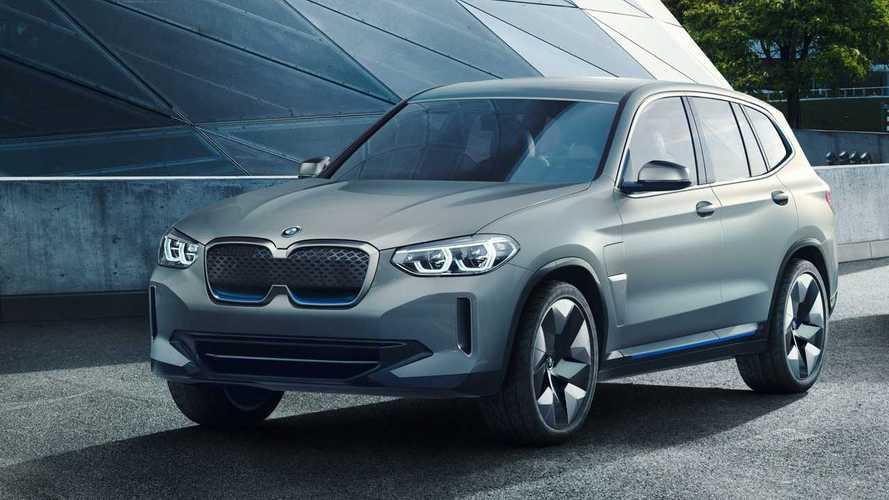 BMW iX3: Erste Details zur Elektroversion des X3