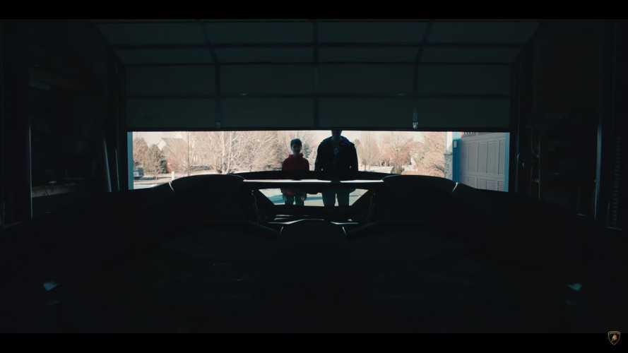 Lamborghini Aventador de regalo