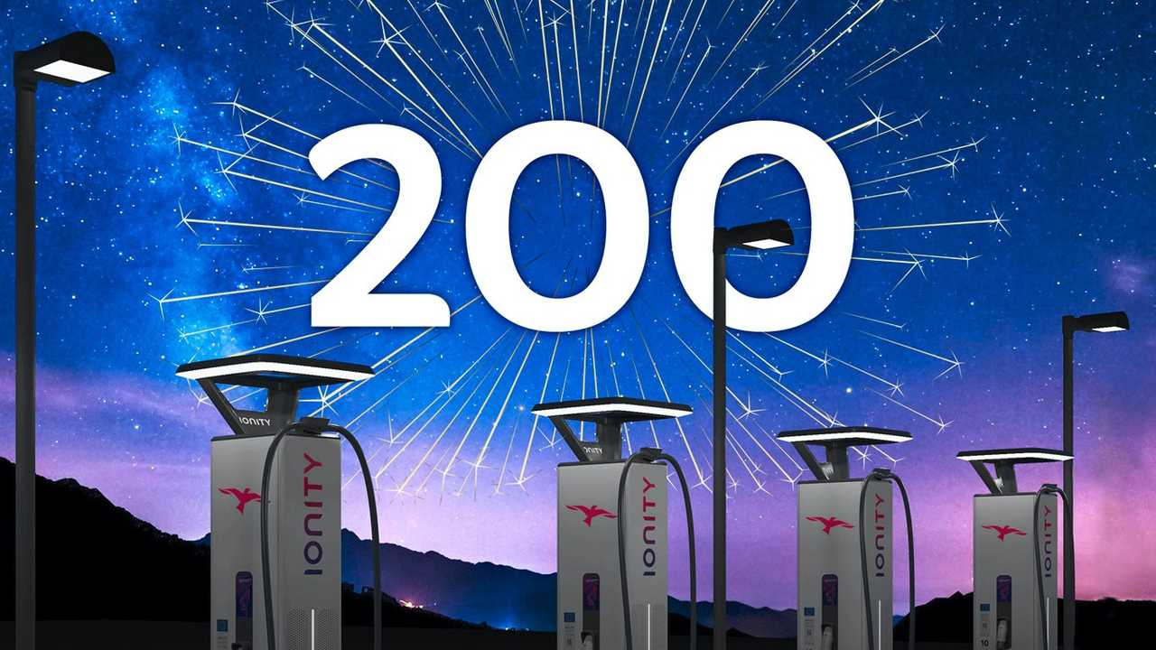 IONITY fast charging network: 200 stations installed