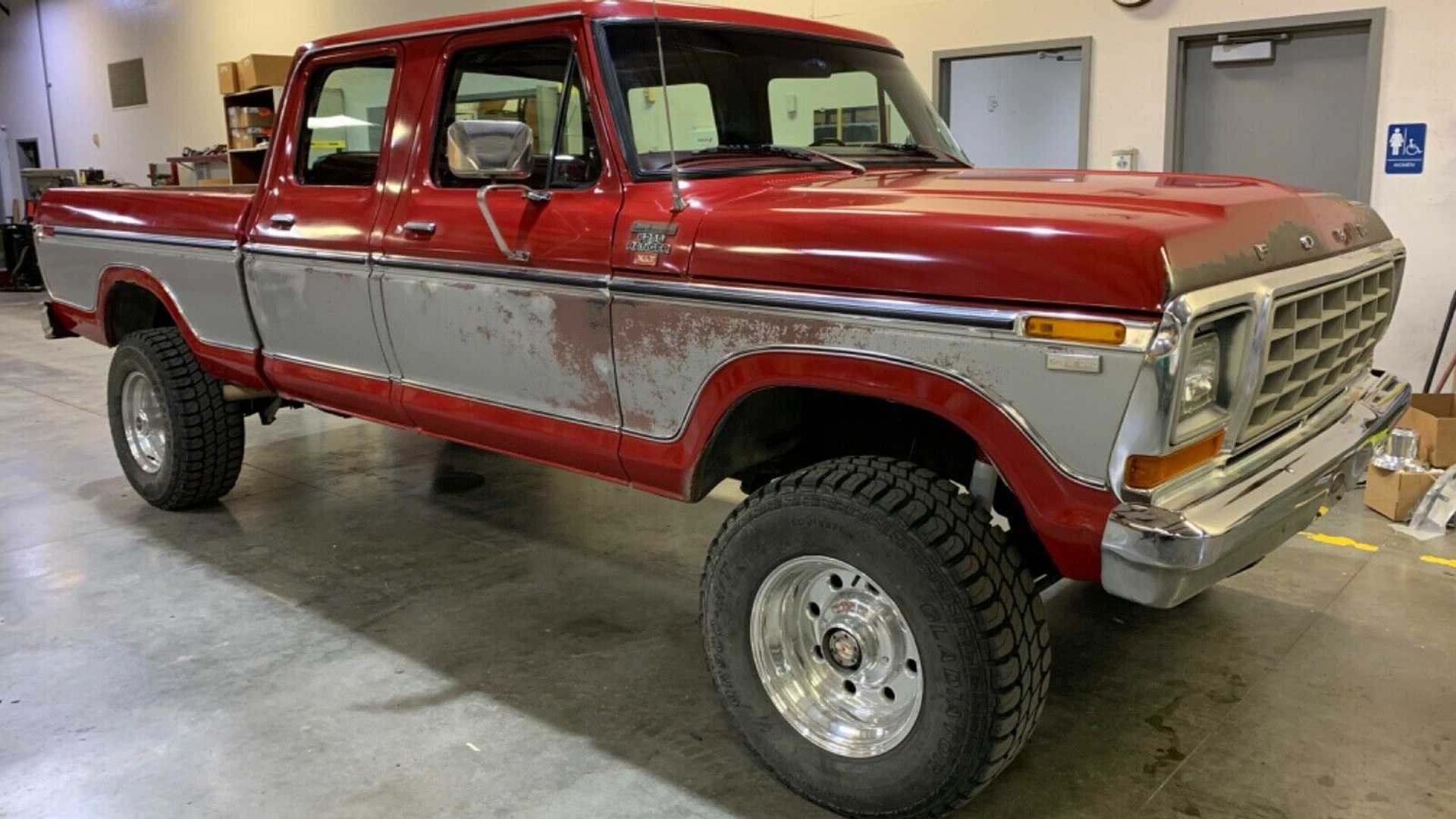 1979 Ford F 250 Crew Cab Survivor Sold For 30k On Ebay Motorious